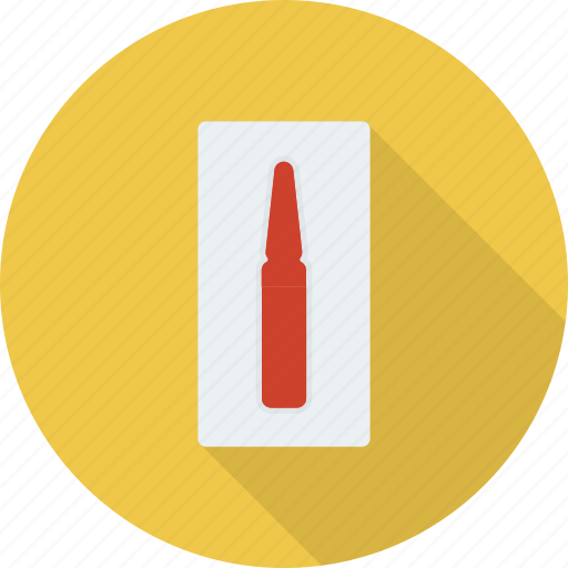 ampoule, drug, health, injection, medicine, remedy icon