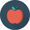 apple, food, fresh, sweet icon