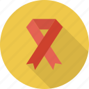 awareness, breast, cancer, ribbon icon