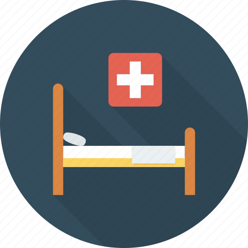 bed, health, hospital, medical icon