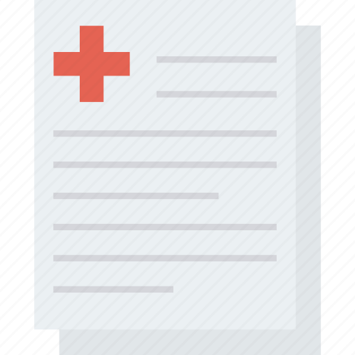 hospital, invoice, medical, payment, receipt, ticket icon