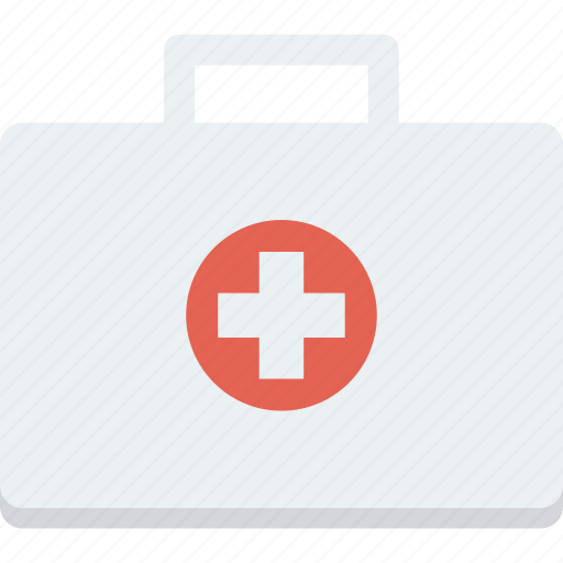 aid, bag, first, help, medical icon