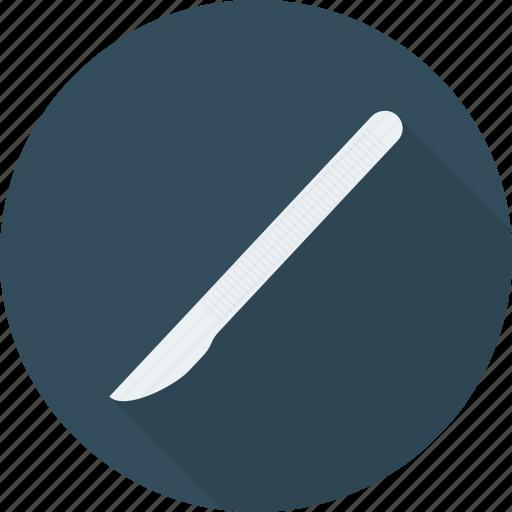 blade, doctor, medical, operation, scalpel, surgean icon