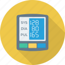 blood, digital, gauge, monitor, pressure icon