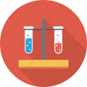 blood, chemical, chemistry, medical, test, tubes icon