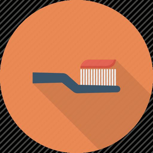 brush, tooth, toothbrush icon