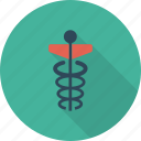 caduceus, medical, sign icon