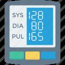 pressure, digital, gauge, monitor, blood