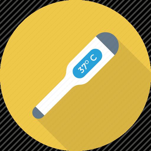 digital, temperature, thermometer icon