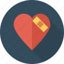 fix, healthcare, heart, injury, medical, medicine, repair icon