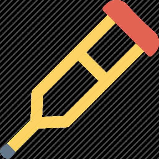 crutch, crutches, equipment, health, healthcare, medical, medicine icon