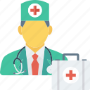 doctor, kit, medical, medicine, nurse, physician icon