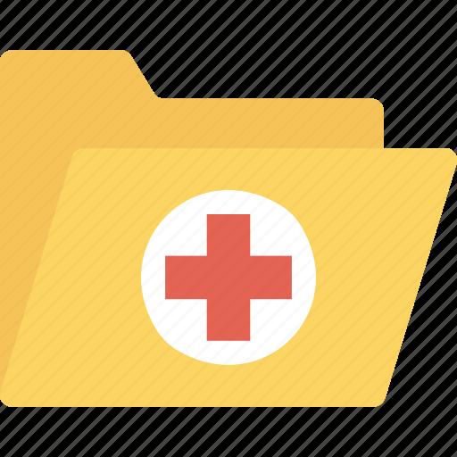 folder, health, healthcare, hospital, medical, records icon