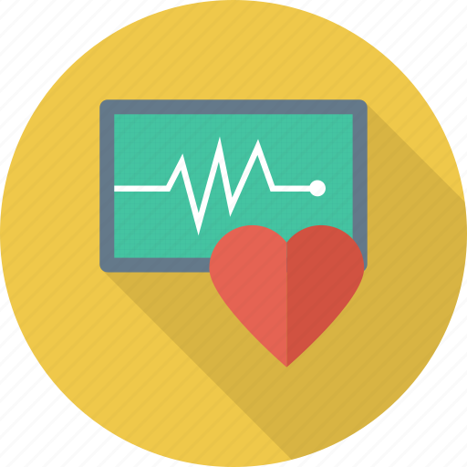 healthcare, heartbeat, pulsation, pulse icon