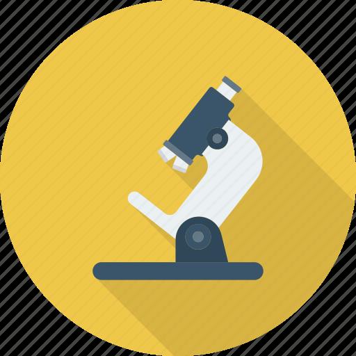 laboratory, medical, microscope, science icon