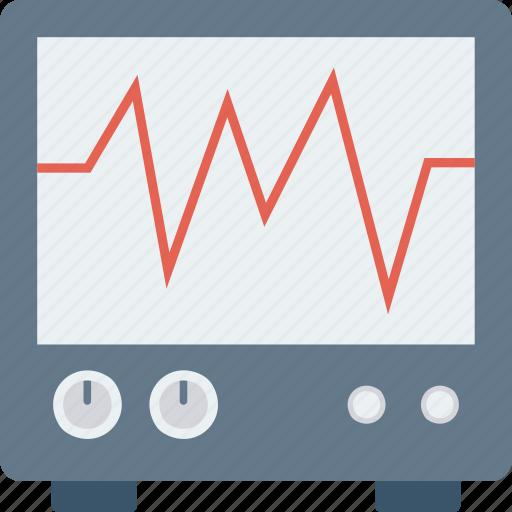 health, healthcare, healthy, heart, heartbeat, monitor, pulsation icon