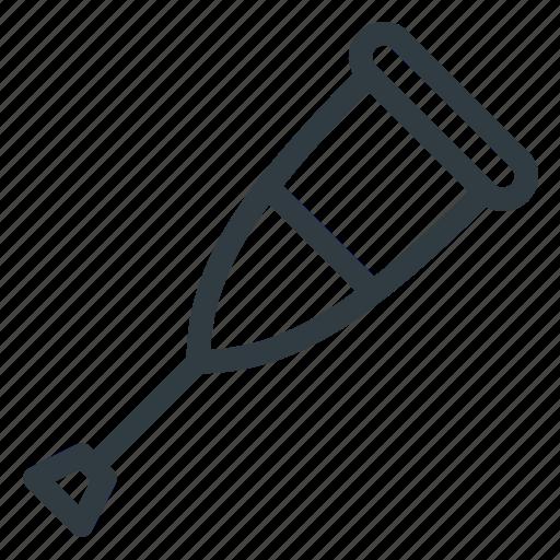 crutch, hold, stick icon