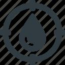 blood, target, type icon