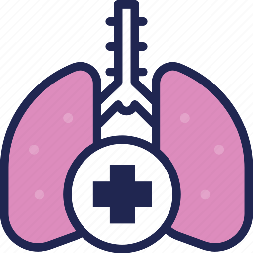 anatomy, clinic, hospital, lung, medical, medicine, treatment icon
