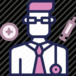 doctor, healthcare, hospital, man, medical, medicine icon