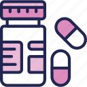 aid, drug, medical, medicine, pharmacy, pill icon