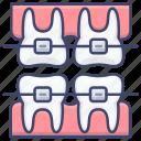 braces, care, dental, tooth