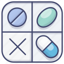 box, container, pharmacy, pill icon