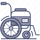 wheelchair, disability, disabled, handicap icon