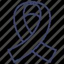 aids, care, hiv, ribbon icon