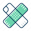 bandage, medical, plaster icon