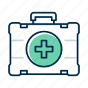 health, kit, medical icon