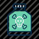 drug, poison, toxic icon