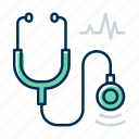 clinic, doctor, stethoscope