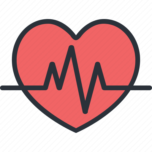 beat, health, heart, hospital, medical, organ, pulse icon