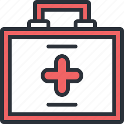 emergency, health, hospital, kit, medical icon