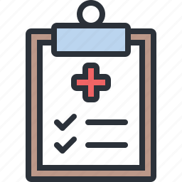 clipboard, health, hospital, medical, results icon