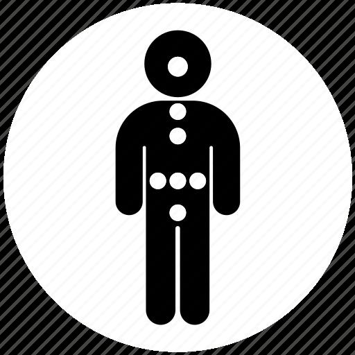 endocrinology, medicine, person icon