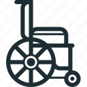 doctor, hospital, medical equipment, nurse, wheelchair icon