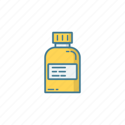 bottle, capsule, cure, health, medicine, pill, supplement icon