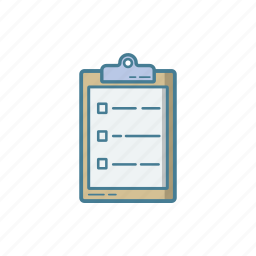 checklist, clipboard, hospital, medical, nurse, record, report icon