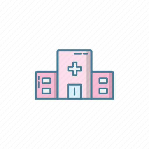 cliic, cure, doctor, hospital, medical, patient, place icon