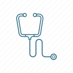 diagnose, doctor, equipment, examine, health, hospital, stethoscope icon