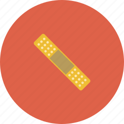 bandage, bandaid, hospital, medical, medicine, treatment, wound icon