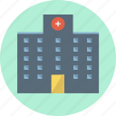 building, construction, doctor, healthcare, hospital, medical, medicine icon