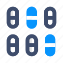 drug, medicine, pills, tablets icon