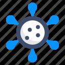 bacteria, disease, infection, virus icon