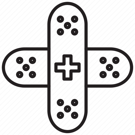 elastoplast, elastoplast icon, hospital, medical icon