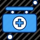 briefcase, health, hospital, medicine