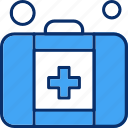 aid, first, kit, medical, medicine