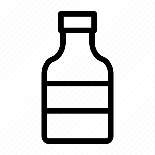 Aqua, bottle, drink, plastic, water icon - Download on Iconfinder